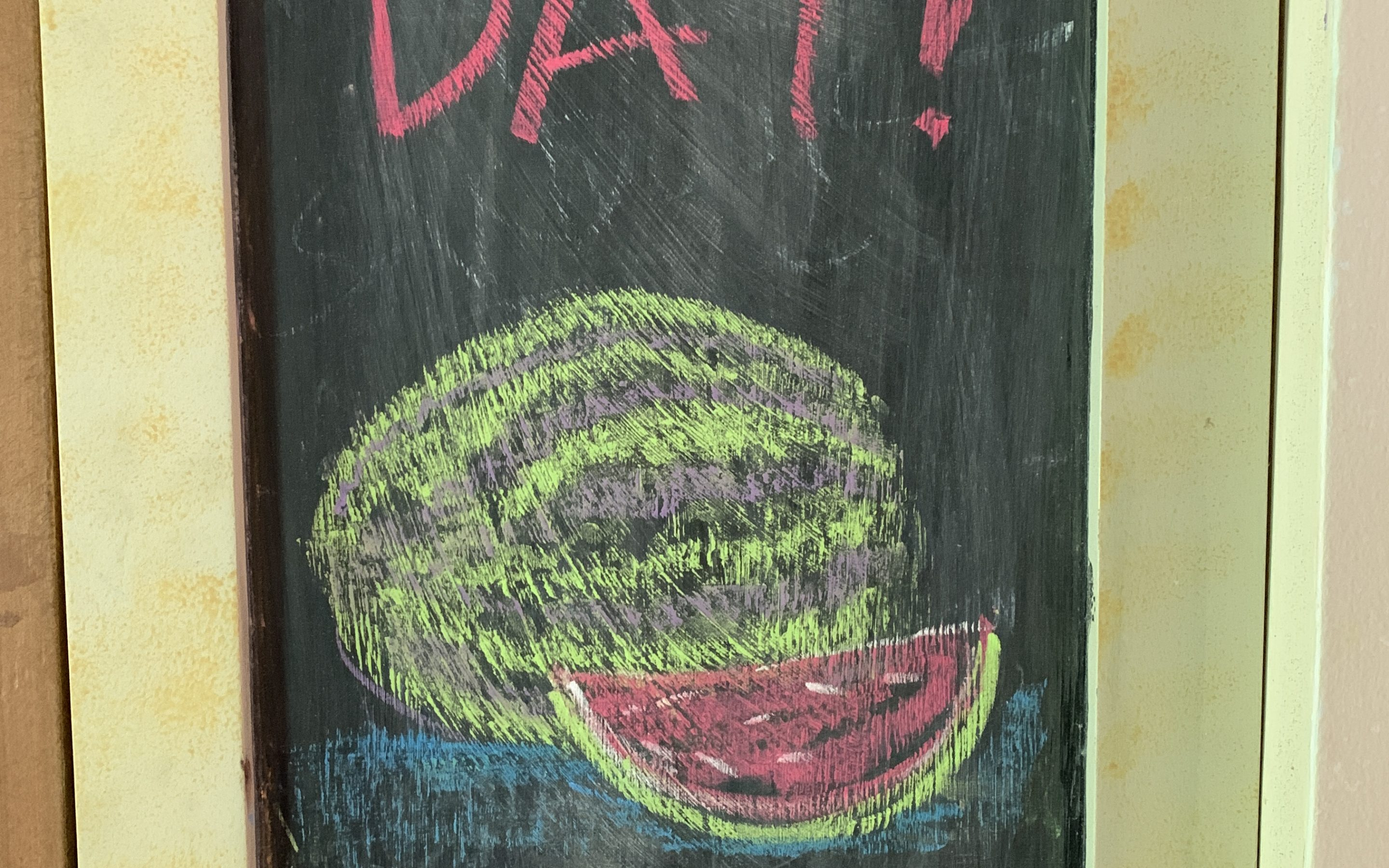 More chalkboard artwork