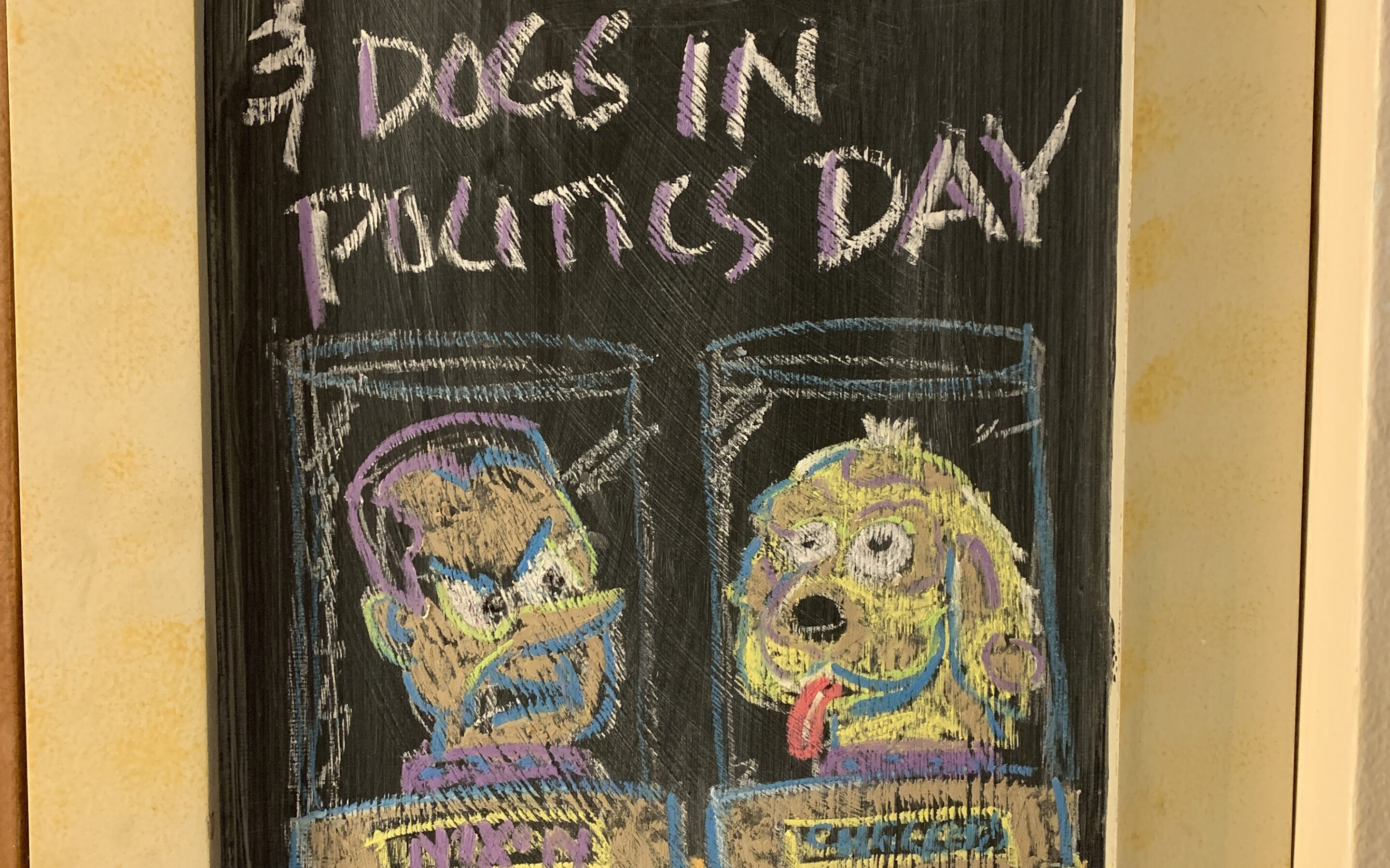 National checkers day and dogs in politics day