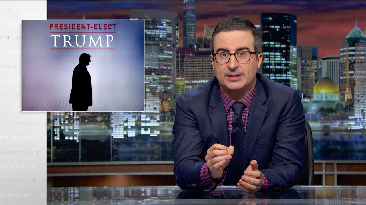 President-Elect Trump: Last Week Tonight with John Oliver (HBO) – YouTube