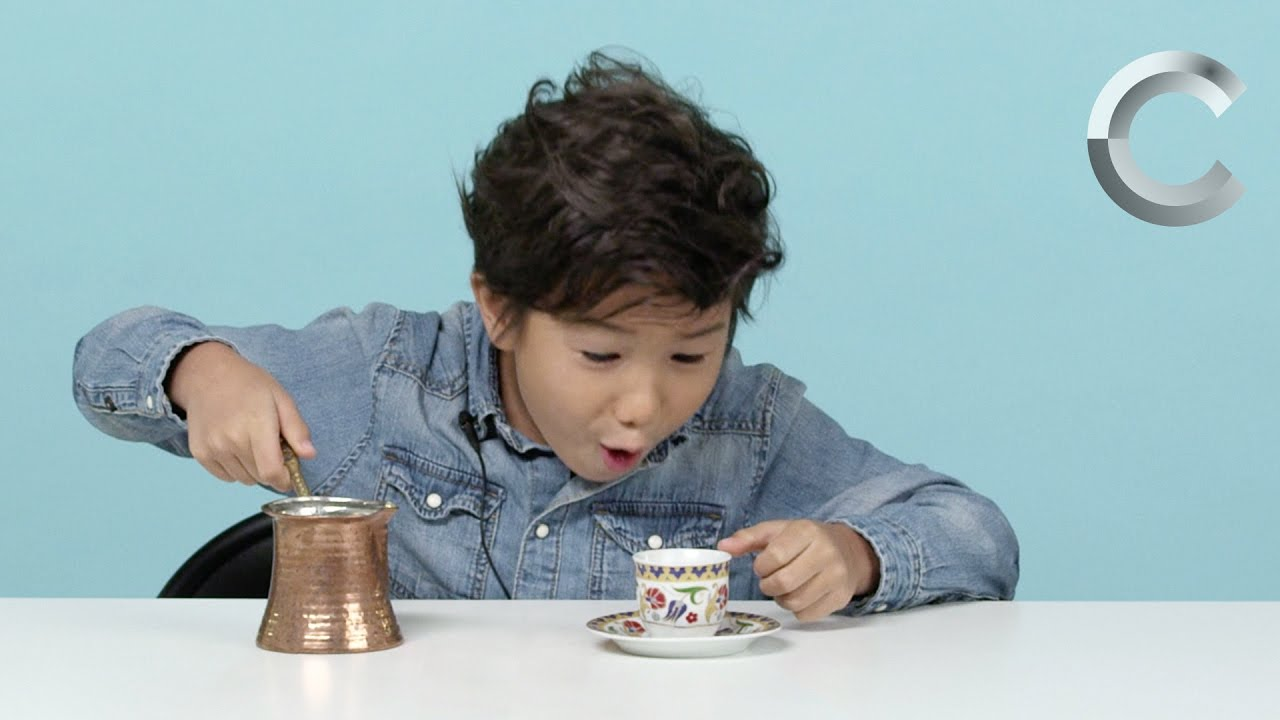 American Kids Try – Episode 7: Coffee from Around the World – YouTube