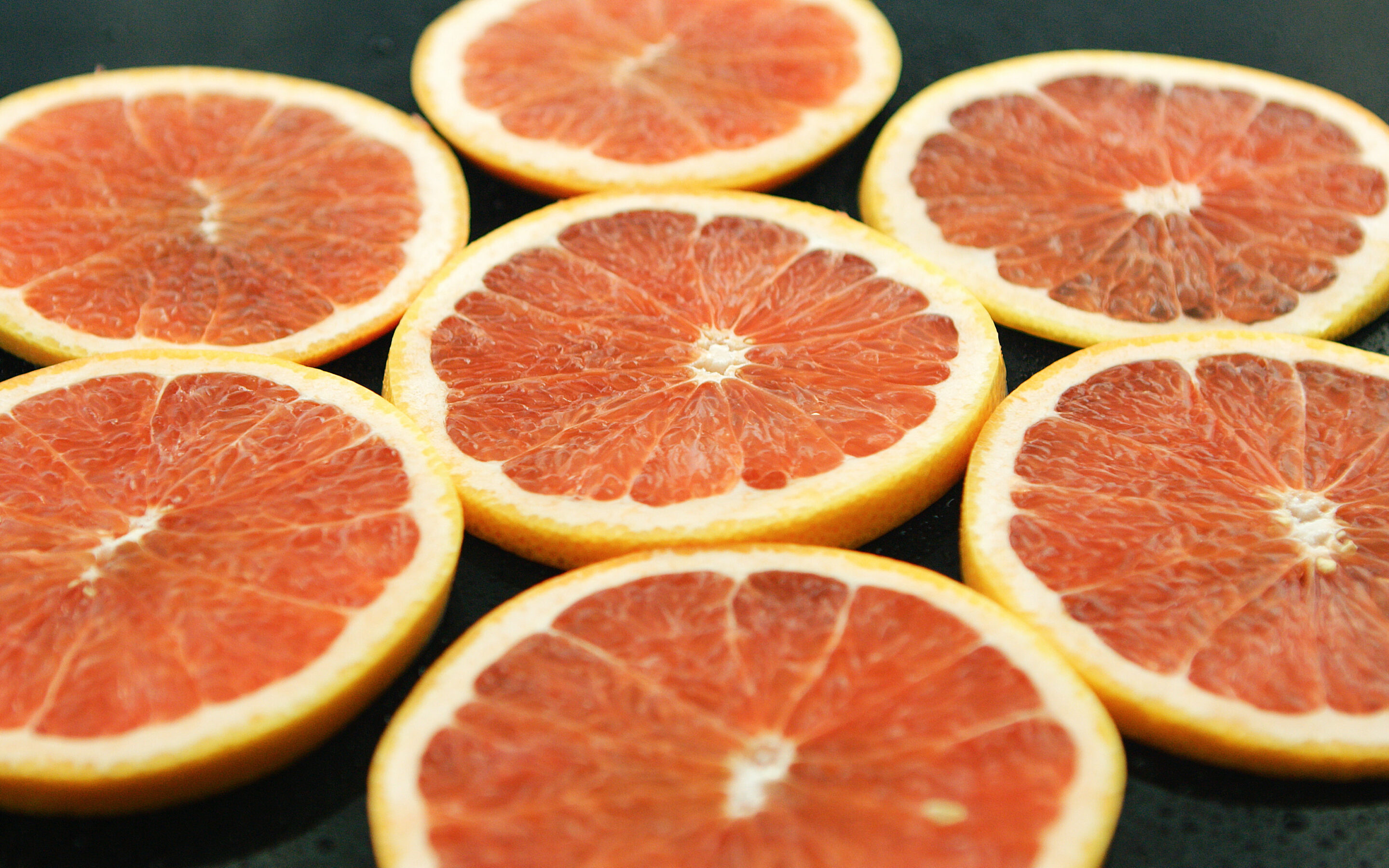 This morning, slicing up my wife's grapefruit….